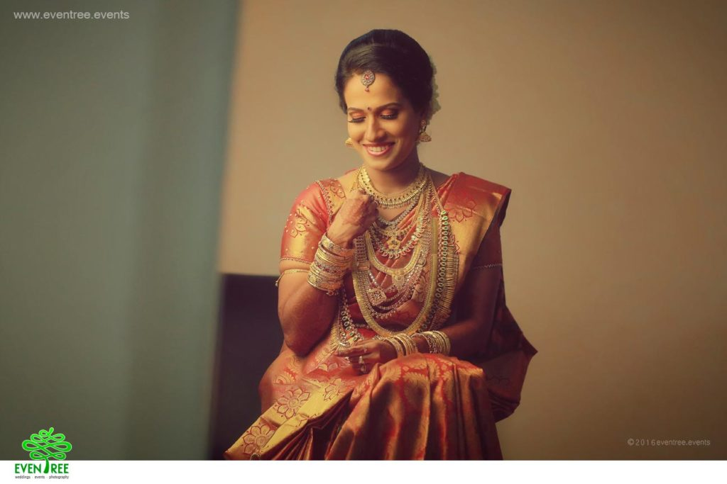 The Traditional wedding Saree