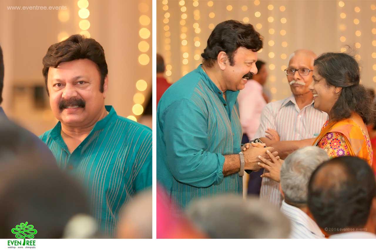 Celebrity management in kerala wedding